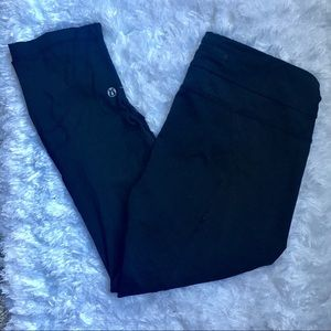 Lululemon Crop Black Leggings